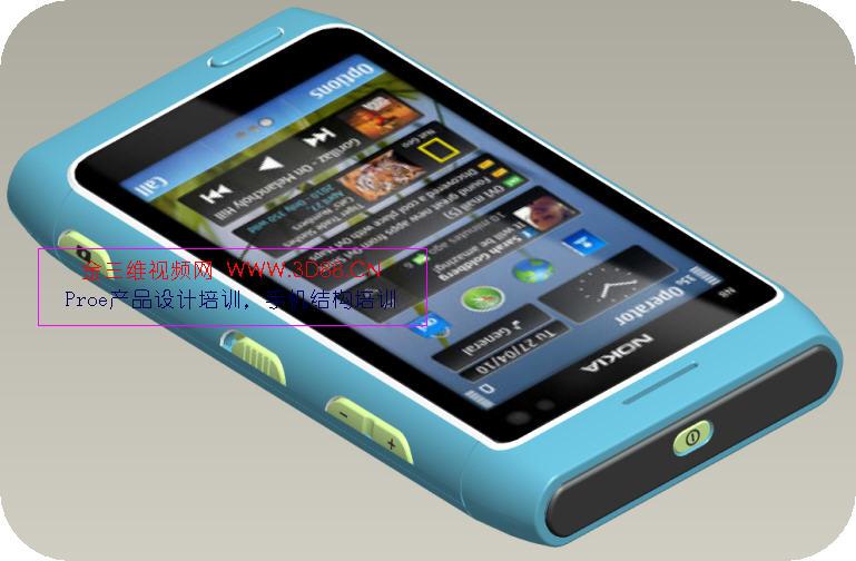 n8手机结构设计视频,智能手机结构视频,proe手机设计视频教程-内容